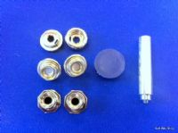 Replacement Half Hood Boot Cover Fittings Set